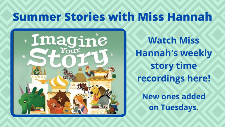 All Miss Hannah's Story Time Videos in one place!