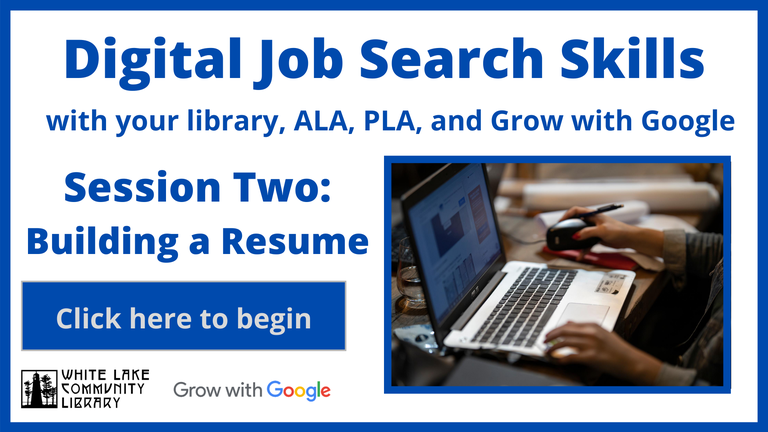 The second part of the virtual job readiness series.