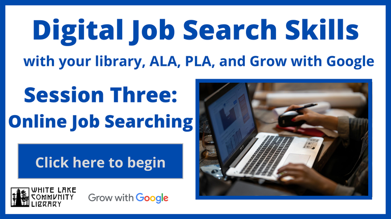 The third video in the library's virtual job readiness series.