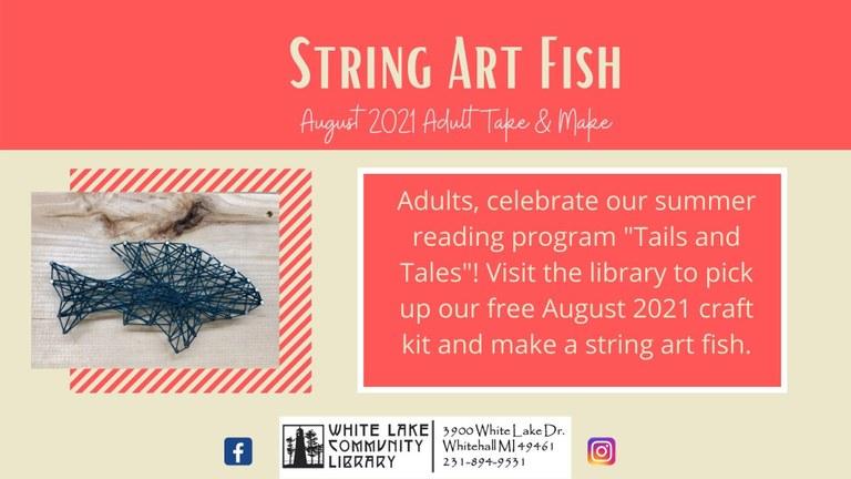 August String Art Fish Craft