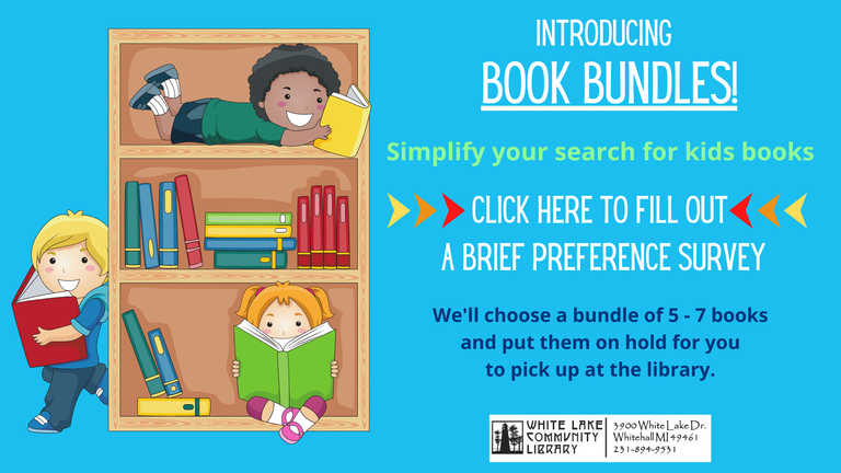 Click here to request a personalized selection of children's books