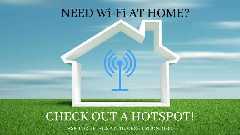check out a hotspot