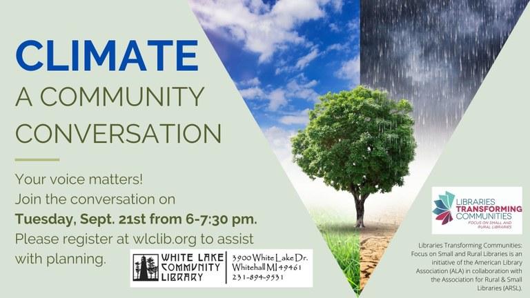 Climate Conversation register