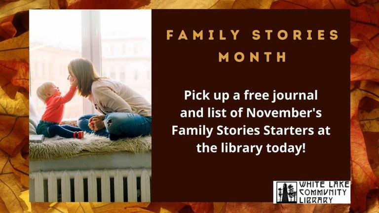 Family Stories Slide