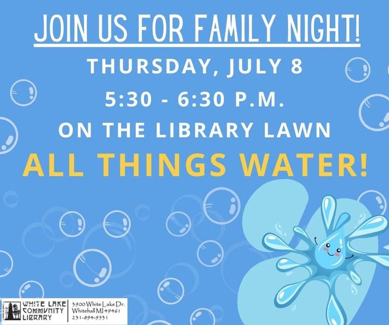 FN Water July 8