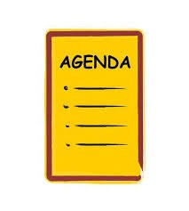 Board mtg agenda icon