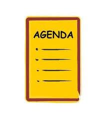 Board mtg agenda icon