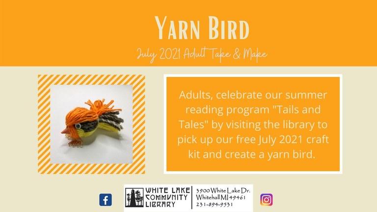 July Adult Craft Kit