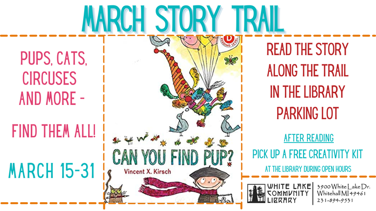 MARCH STORY TRAIL 21