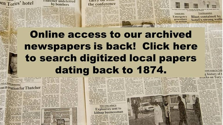 newspaper archive is back 2018