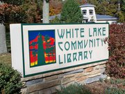 Photo of Library Sign