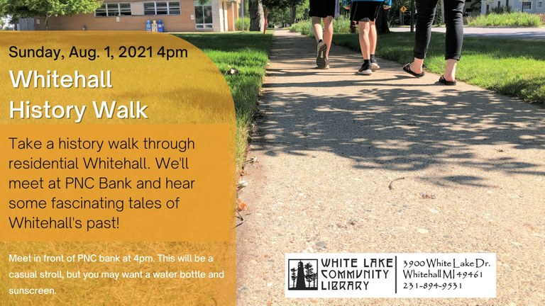 Revised_Tales of Whitehall Walking Tour