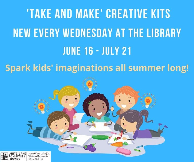 New Creative Kit available every Wednesday, June 16 to July 21
