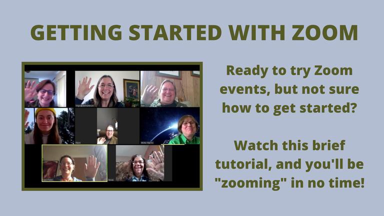 Zoom tutorial
